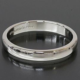 Tiffany & Co. Platinum Simple Wedding Band Ring US 7.5