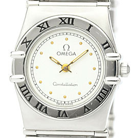 Polished OMEGA Constellation Stainless Steel Ladies Watch 795.1080
