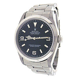 Rolex Explorer 14270 Stainless Steel Black Dial Automatic 36mm Men's Watch