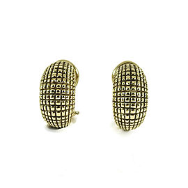 Alex Šepkus 18K Yellow Gold Small Armadillo Semi Hoop Earrings