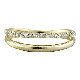 0.25 Carat 14K Yellow Gold Diamond Ring