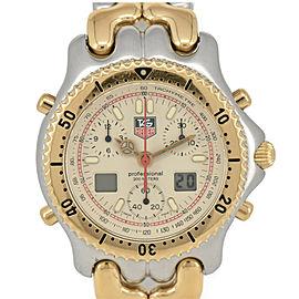 TAG HEUER S/el Professional 200m CG1123-0 GP/SS Quartz Men's Watch