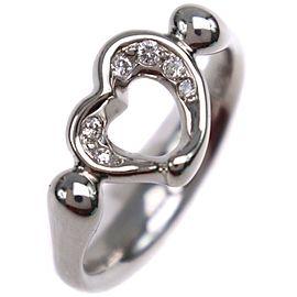 TIFFANY&Co c Open heart Ring