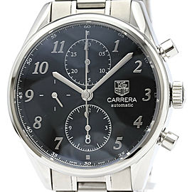 Polished TAG HEUER Carrera Heritage Calibre 16 Steel Mens Watch CAS2110