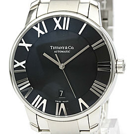 TIFFANY & CO. Z1810.68.10A10A00A Atlas Stainless steel Dome Automatic Watch