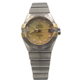 Omega Constellation 123.20.27.20.57.003 Stainless Steel with Mother Of Pearl Dial Automatic 27mm Womens Watch