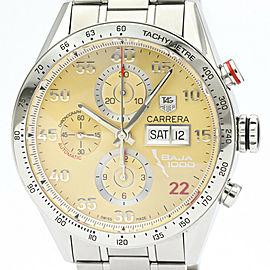 Polished TAG Heuer Carrera Baja California Chronograph Watch CV2A1H