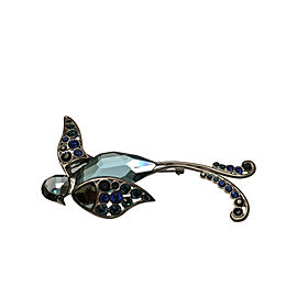 Beautiful Swarovski Crystal Bird Brooch Vintage Perfect Condition