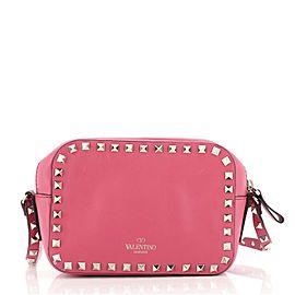 Valentino Rockstud Camera Crossbody Bag Leather