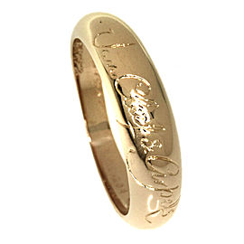 Van Cleef & Arpels 18K Yellow Gold Ring Size 5.25