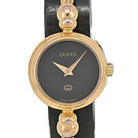GUCCI 2700L black Dial Quartz Ladies Bangle Watch