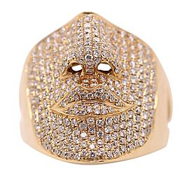 Sonia Bitton 18k Rose Gold 2.50ct Diamond Face Ring