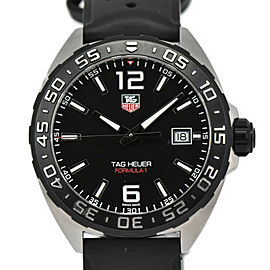 TAG HEUER Stainless Steel / rubber Formula 1 Watch