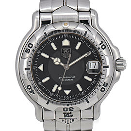 TAG HEUER 6000 WH1116-K1 Professional 200m Quartz Men's Watch #HK-318