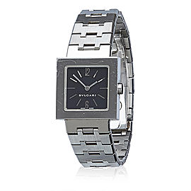 Bulgari Quadrato SQ22SS 31mm Unisex Watch