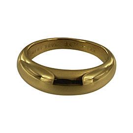 Van Cleef & Arpels 18K Yellow Gold Ring Size 5.5