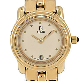 FENDI 860L 004-881 GP Quartz Ladies Watch