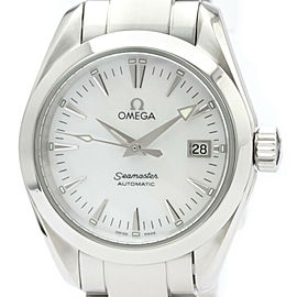 Polished OMEGA Seamaster Aqua Terra MOP Dial Automatic Watch 2573.70