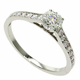 CARTIER Platinum 1895 Solitaire Ring