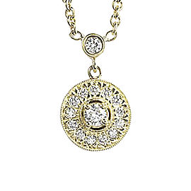 Penny Preville 18K Yellow Gold Diamond Pendant Necklace