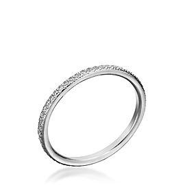 Michael B. Trois Platinum Diamond Ring Size 6