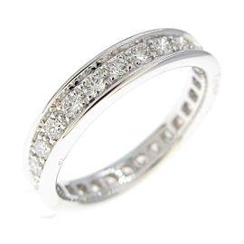 Cartier 18K White Gold wedding ring TkM-195