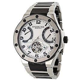 Stuhrling Spirit Pro 1160B.3312B10 Stainless Steel 53mm x 46mm Watch