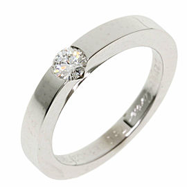 CARTIER 18k White Gold Dating With Cartier Ring