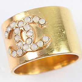 CHANEL gold Gold COCO Mark Ring