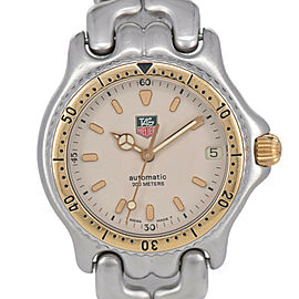 TAG HEUER S/el S87.013E 200m Ivory Dial Automatic Boy's Watch