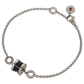 BULGARI Save The Children B.ZERO1 Black Ceramic Bracelet