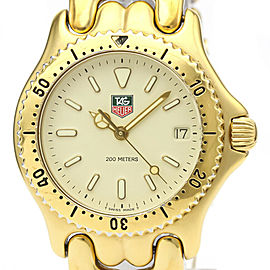 TAG HEUER Gold plated Sel 200M Watch