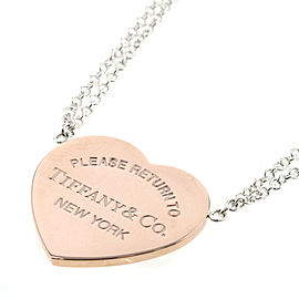 TIFFANY & Co 925 Silver Necklace TBRK-465