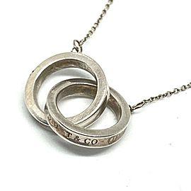 TIFFANY&Co. Silver 1837 Interlocking Circles Necklace