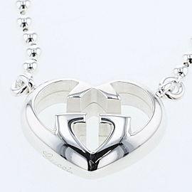 GUCCI 925 silver interlocking ball Chain Necklace TBRK-804