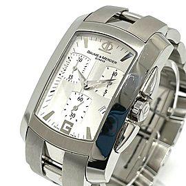 BAUME & MERCIER MOA65481 Hampton Stainless Steel Chronograph Wrist watch