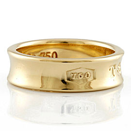 TIFFANY&Co. 18K yellow Gold Narrowing ring CHAT-451