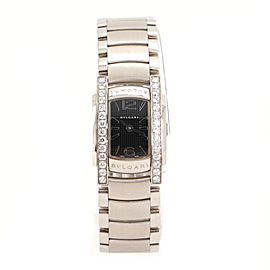 Bvlgari Assioma D Quartz Watch Stainless Steel with Diamond Bezel 18