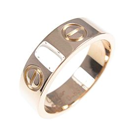 Cartier 18K Pink Gold Love ring TkM-113