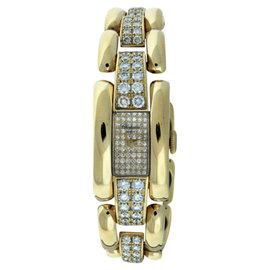 Chopard La Strada 18k Yellow Gold Diamond 18mm x 30mm Watch