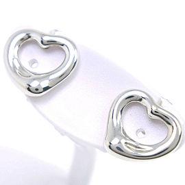 TIFFANY & Co Silver925 Open heart earring NST-45