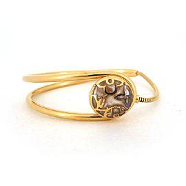 Louis Vuitton Celeste Gold Tone Bracelet