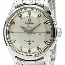 OMEGA Constellation Chronometer Cal 505 Rice Bracelet Steel Watch 2852