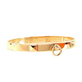 Hermes Collier de Chien Bracelet 18K Rose Gold PM