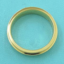 TIFFANY & CO 18k Yellow gold TTWO ring