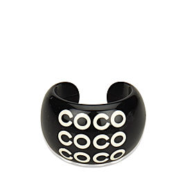 Chanel Coco Resin Ring Size 7.5