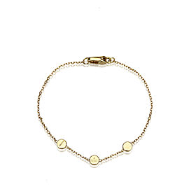 Gucci 18K Yellow Gold Chain Bracelet