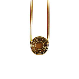 Hermes Clou de Selle Safety Pin Brooch
