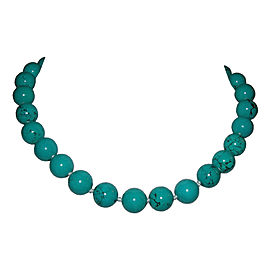 Alberto Juan Turquoise Medium Beaded Princess Necklace