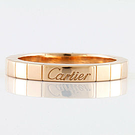 CARTIER 18K Pink Gold Lanier Ring CHAT-1218
